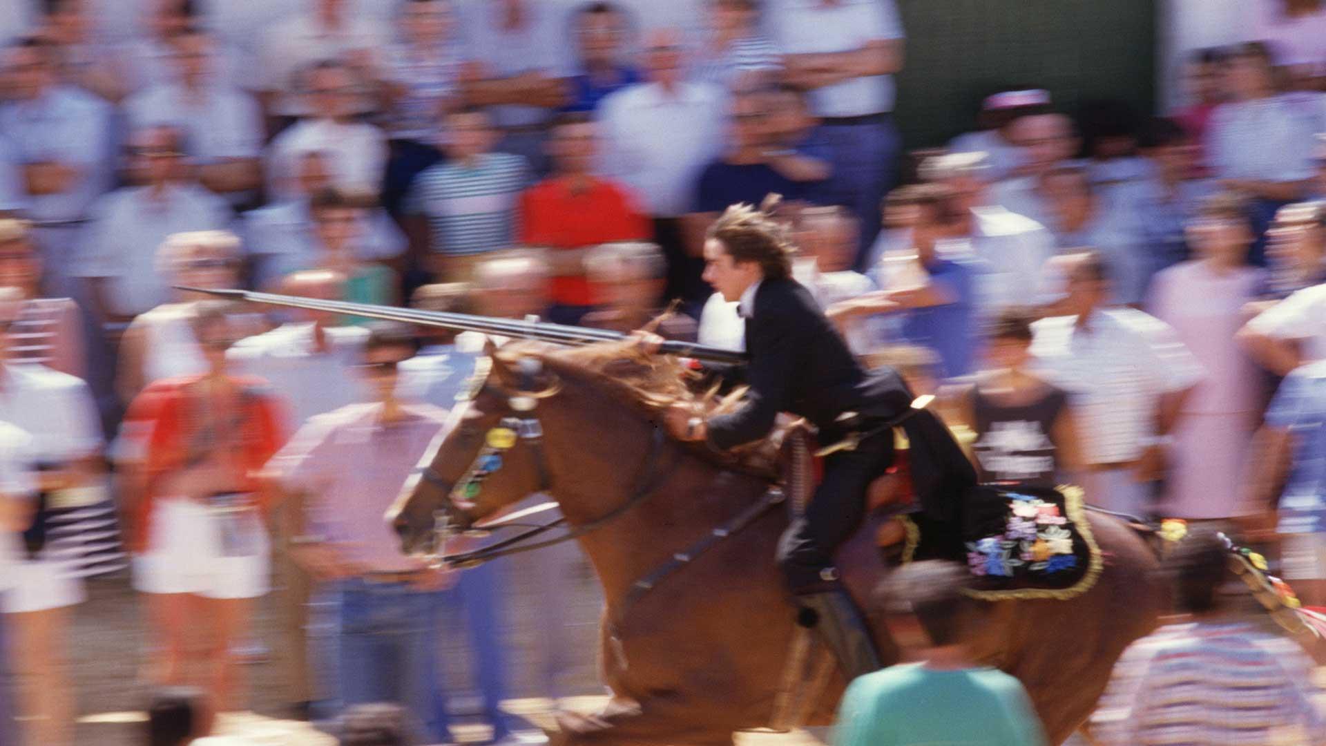 Imagen  Das Pferd, der Hauptdarsteller der Feierlichkeiten Menorcas