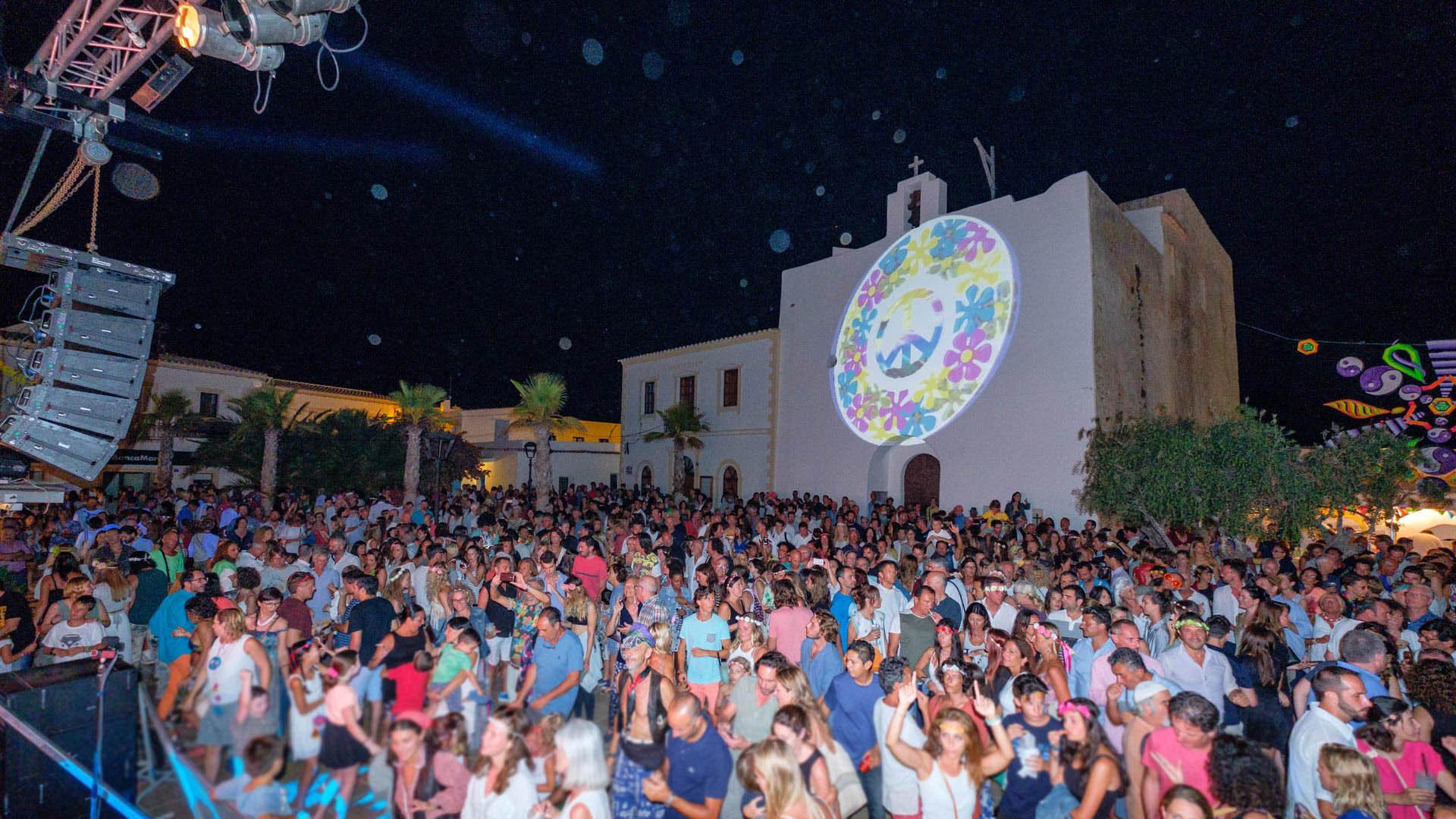 Imagen  Flower Power Feste von Formentera