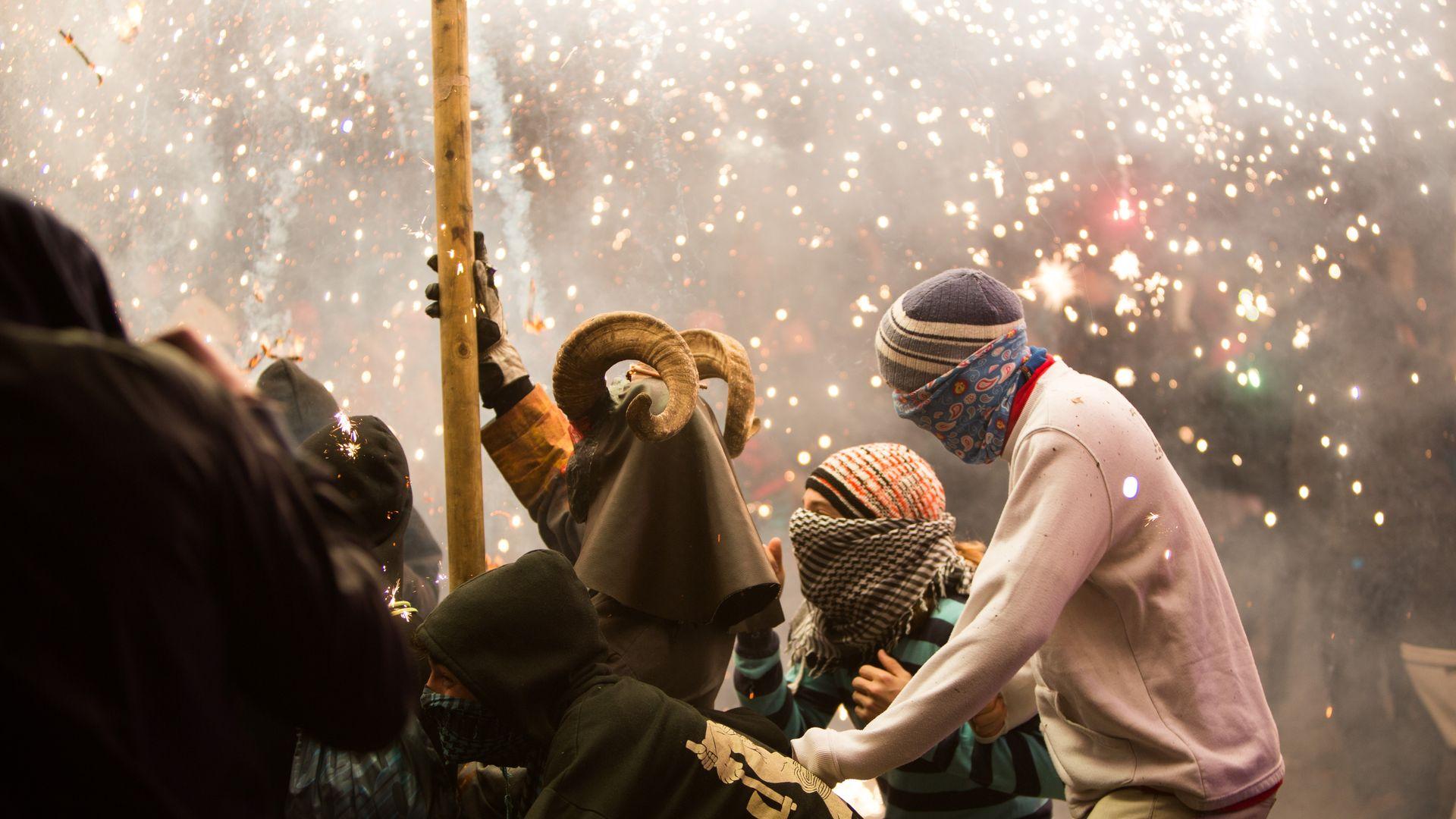 Imagen  The San Antonio festival, the warmth of tradition