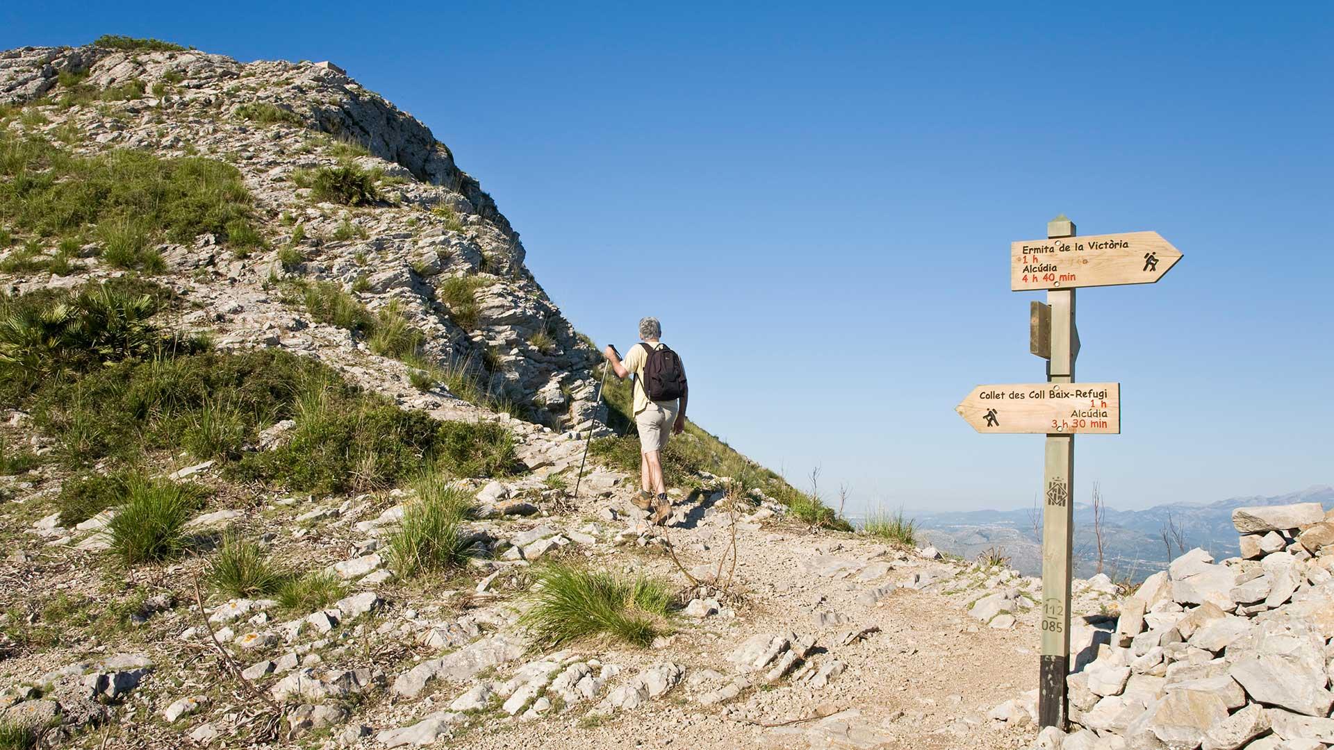 Imagen  Senderos de gran recorrido en Mallorca