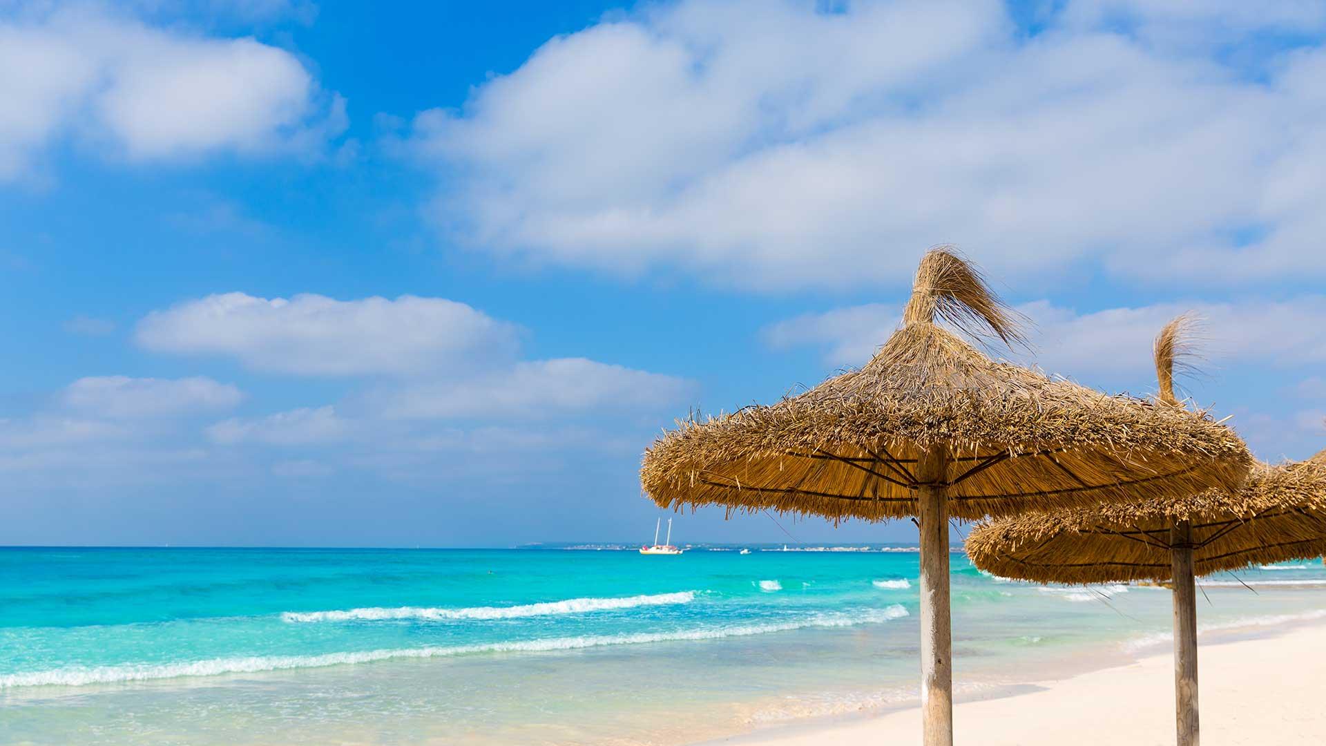 Grandes arenales de las islas baleares - Islas de baleares ...